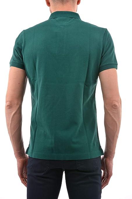 BEST COMPANY Polo con Logo sul Cuore Verde Militare: Amazon.es ...