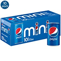 40-Pack Pepsi Soda Mini Cans 7.5oz Deals