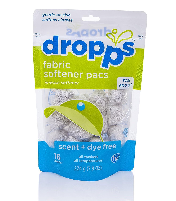 Amazon Dropps Fabric Softener Pacs Scent Dye Free 16 ct