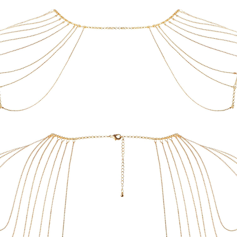 Bijoux Indiscrets Magnifique Catena a Spalla Come Nobile Bigiotteria, Bigiotteria, Bigiotteria, Oro - 250 G cf3c84