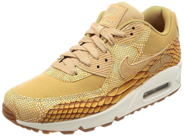 Nike Herren Air Max 90 Premium Ltr Sneaker  40 EU|Orange (Vacchetta Tan/Vachetta Tan-elemental Gold 200)
