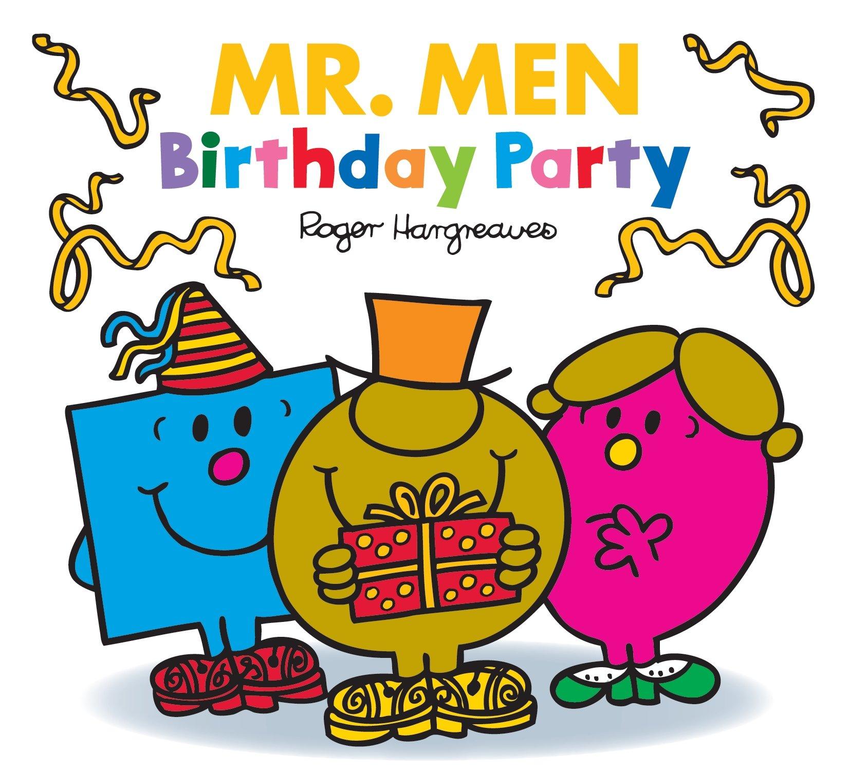 Mr Men Birthday Party Mr Men Little Miss Celebrations Adam