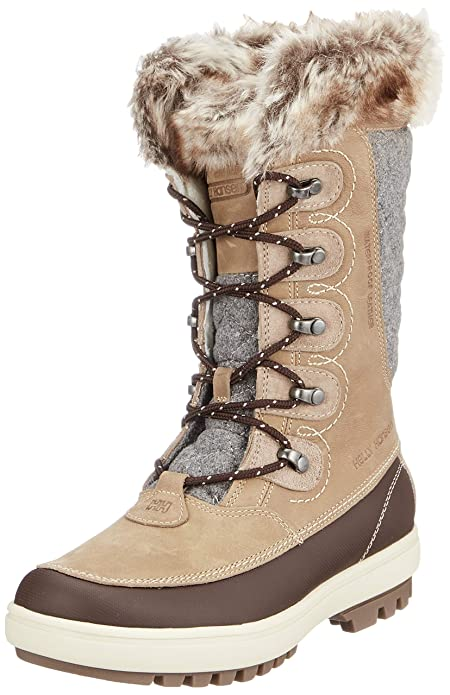 Helly Hansen Women's W Garibaldi Vl W Cold Weather Snow Boots, CamelCoffee BeanBungee CordNaturalKhakiAngoraSperry Gum, 6
