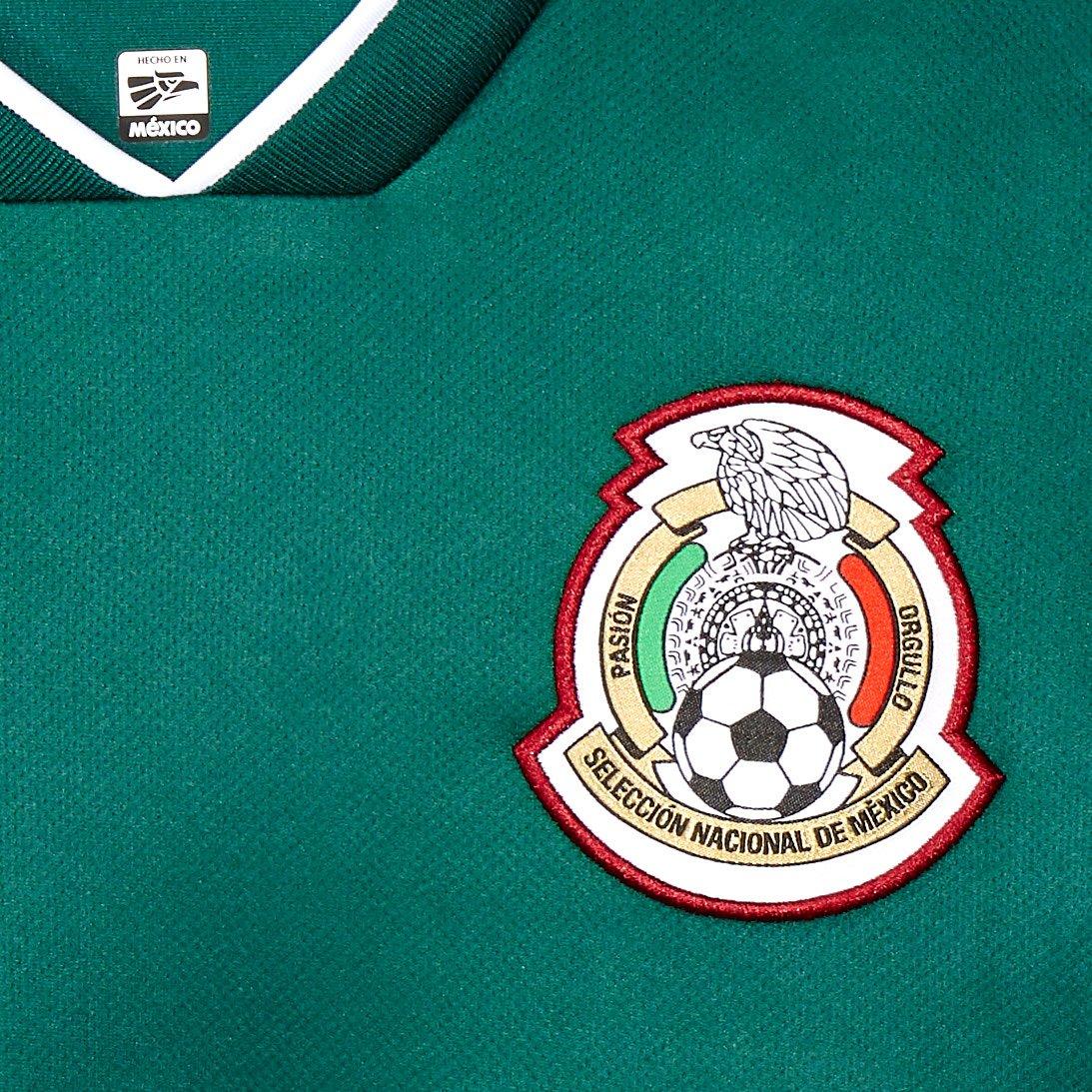 9fdbb50c9482d Jersey Oficial Selección de México Local para Hombre