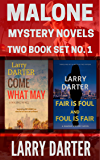 Malone Mystery Novels Two-Book Set #1: A Private Investigator Series of Crime and Suspense Thrillers (The Malone Mystery Novels)