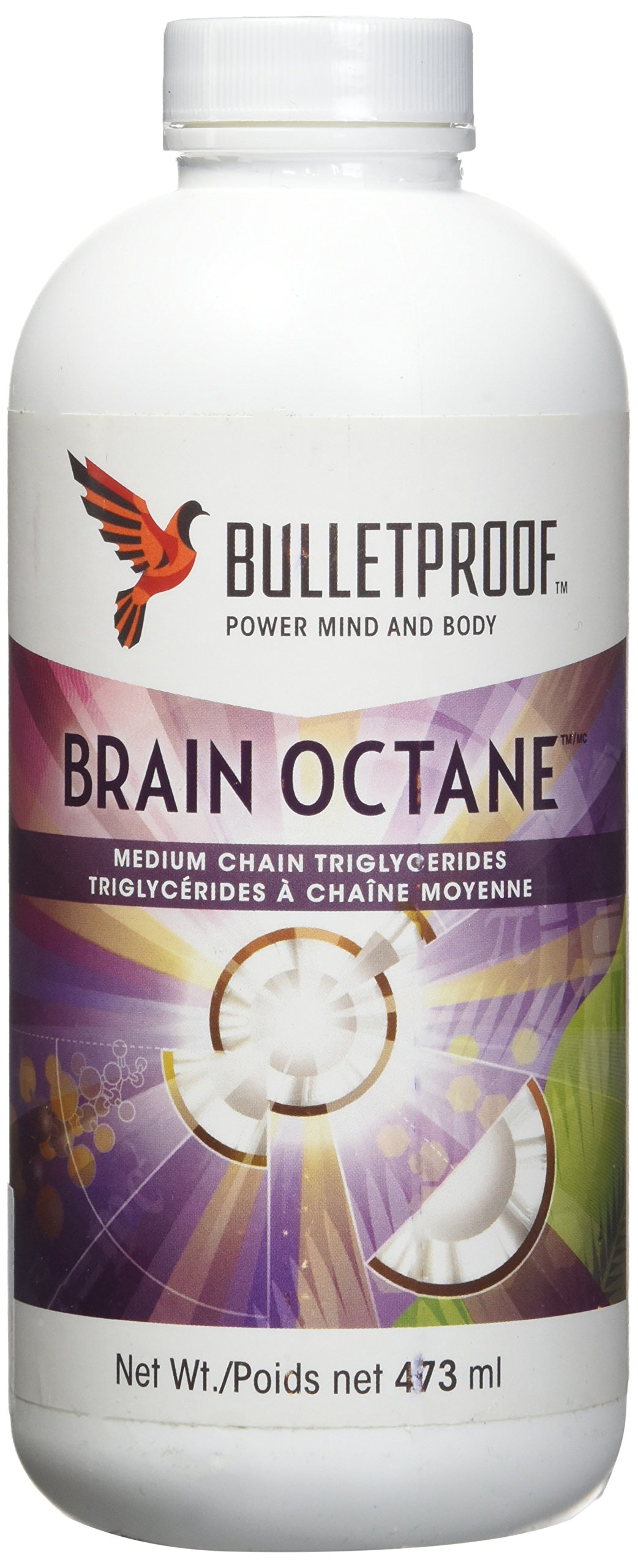 Brain Octane Bulletproof 16oz=480mL Brand: Bulletproof