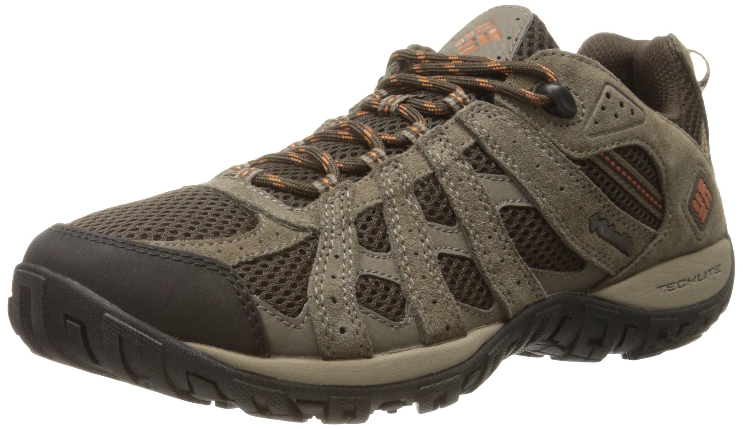 Columbia Men's Redmond Low Hiking Shoe, Cordovan/Dark, 10 M US by Columbia