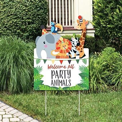 Amazon.com: Jungle Party animales – decoraciones de fiesta ...
