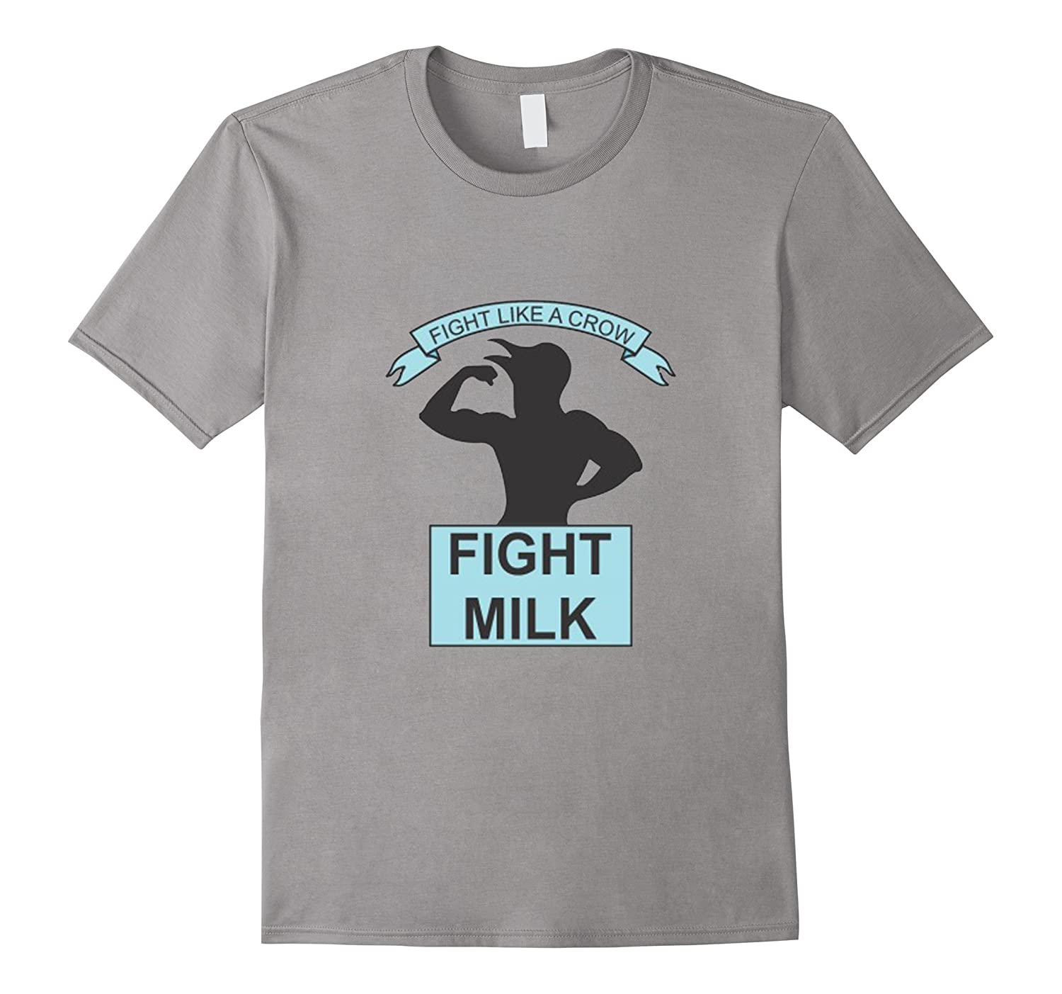 Fight Milk Funny Shirt-Vaci