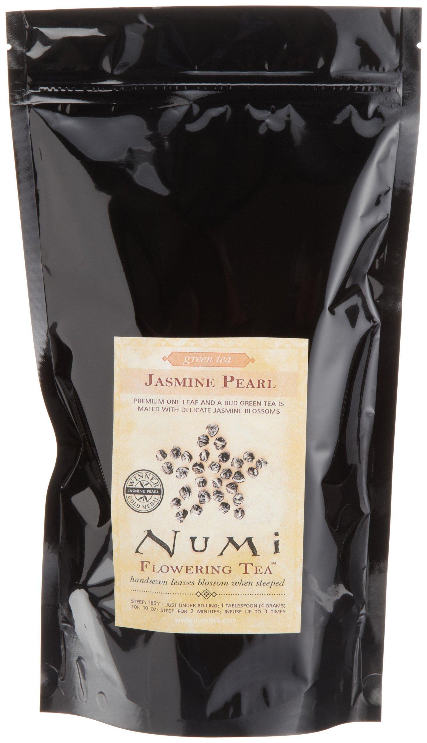 Numi Organic Tea Jasmine Pearls, 16 Ounce Pouch, Loose Leaf Green Tea (Packaging May Vary) by Numi Organic Tea (Image #2)
