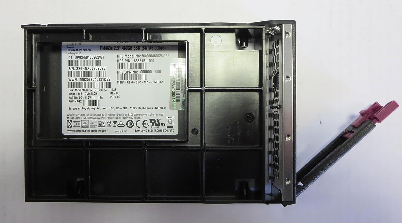 HPE - S SVR STOR INF (SI) BTO 480GB SATA 6G RI LFF SSD STOCK