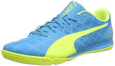 ab46248ea Puma Men's evoSPEED Sala 3.4 Futsal Shoes, Blue (atomic blue-safety yellow-