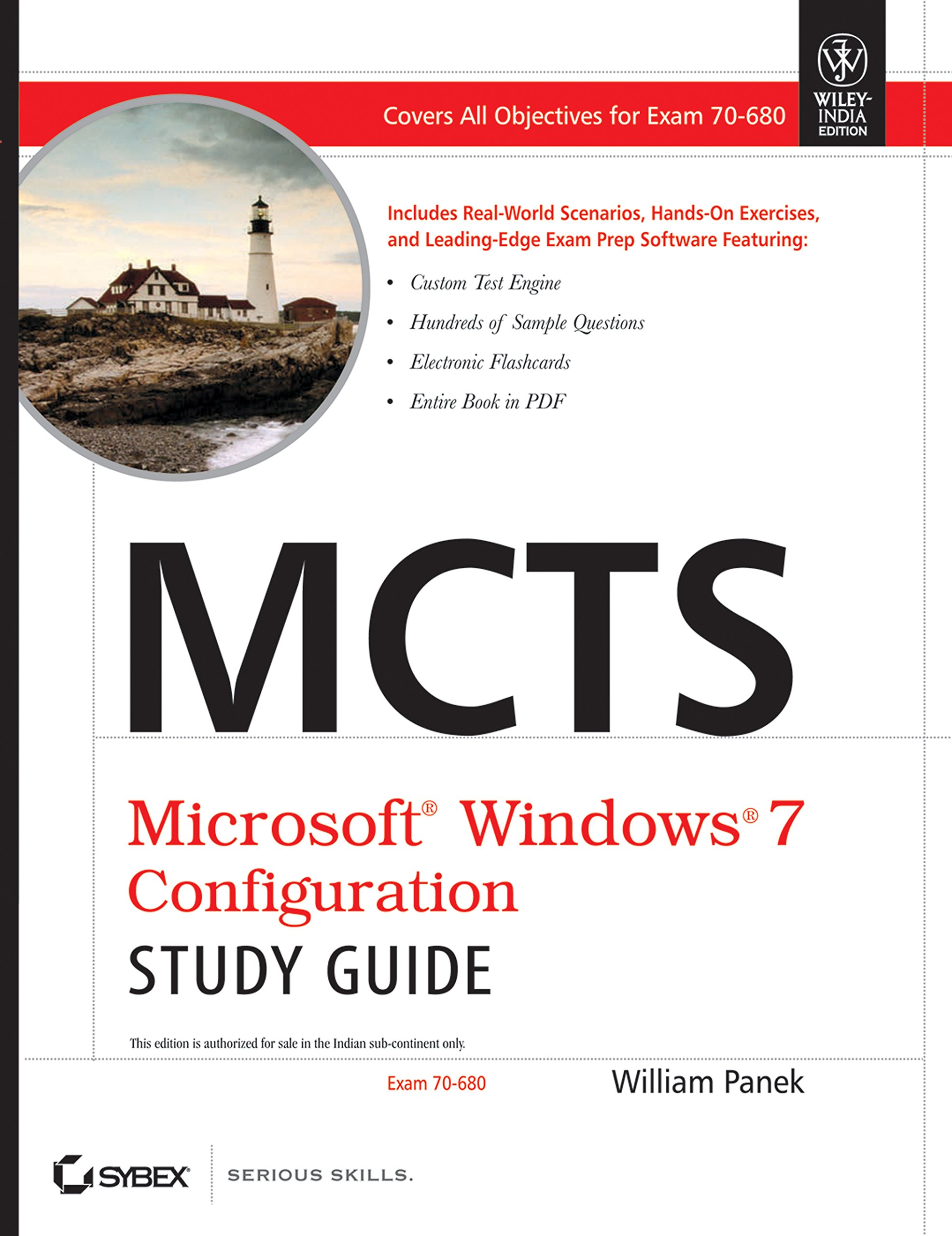 Buy MCTS Microsoft Windows 7 Configuration Study Guide: Exam 70-680 Book  Online at Low Prices in India | MCTS Microsoft Windows 7 Configuration  Study Guide: ...