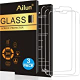 LG G6 Screen Protector,[3 Pack]by Ailun,Tempered Glass,9H Hardness,2.5D Edge,Ultra Clear Transparency,Anti-Scratches,Case Friendly-Siania Retail Package