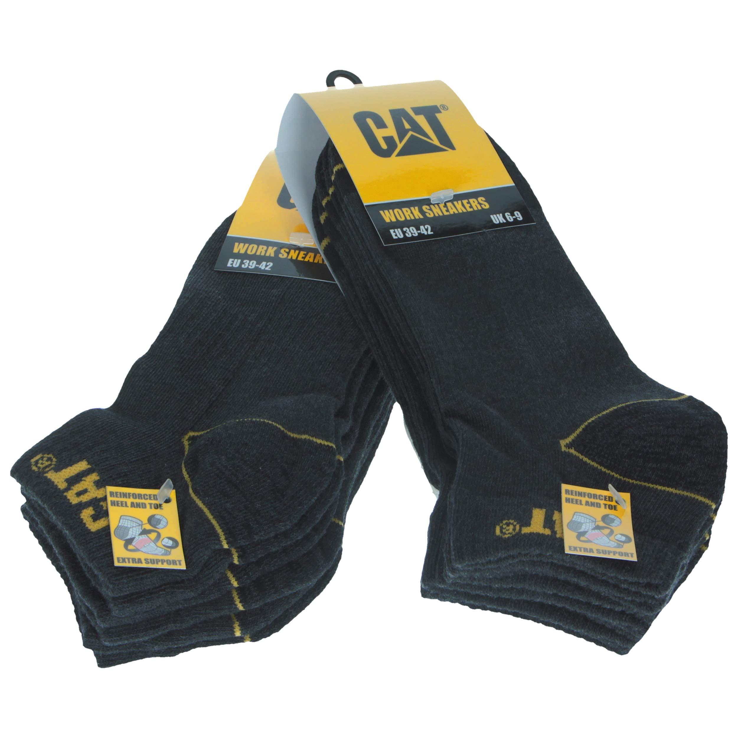 6 Paia Calze da Lavoro Uomo Estive Corte alla Caviglia Antinfortunistiche  Rinforzate su Tallone e Punta 20d4ff8fd46
