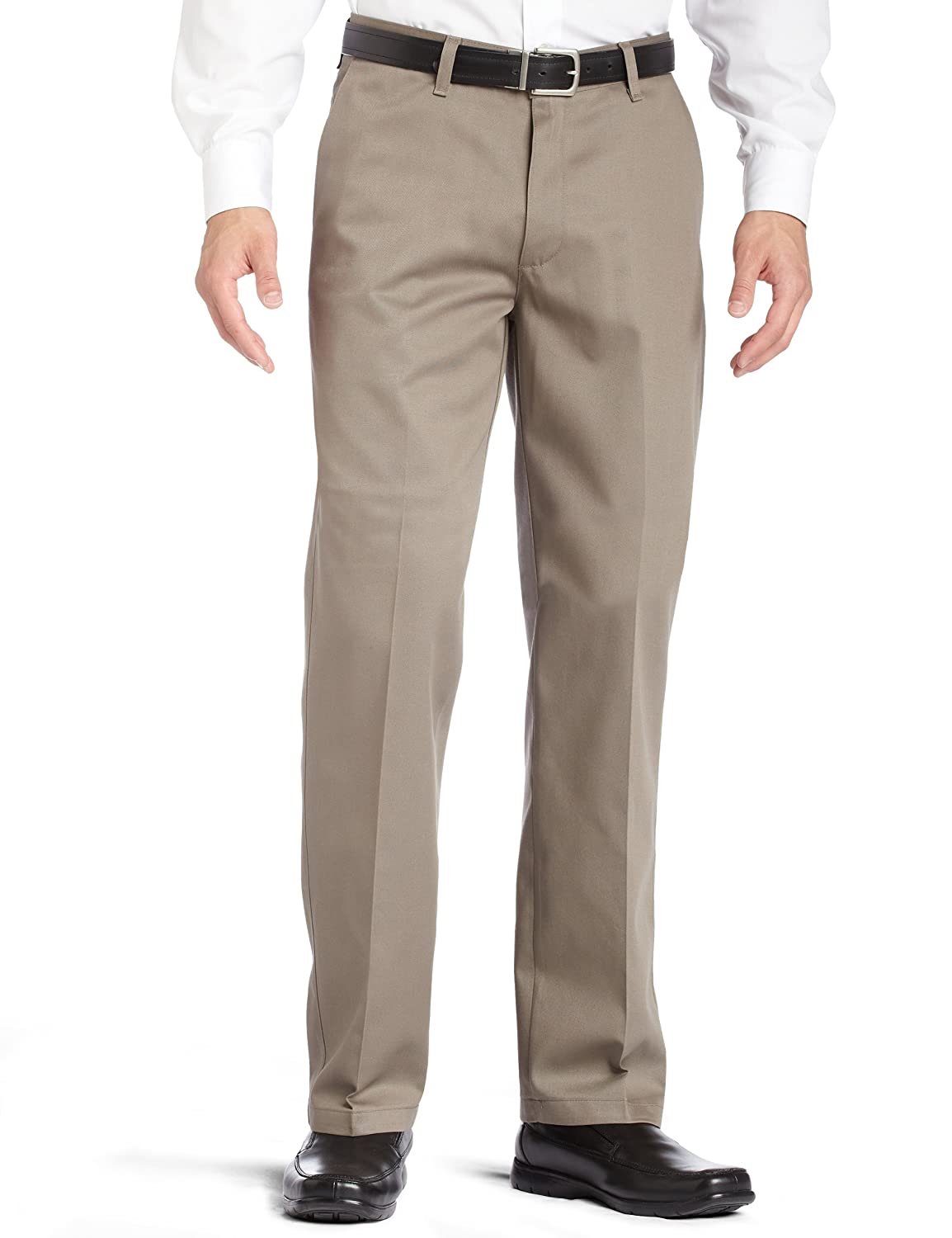 LEE Men's Stain Resistant Relaxed Fit Flat Front Pant 41820