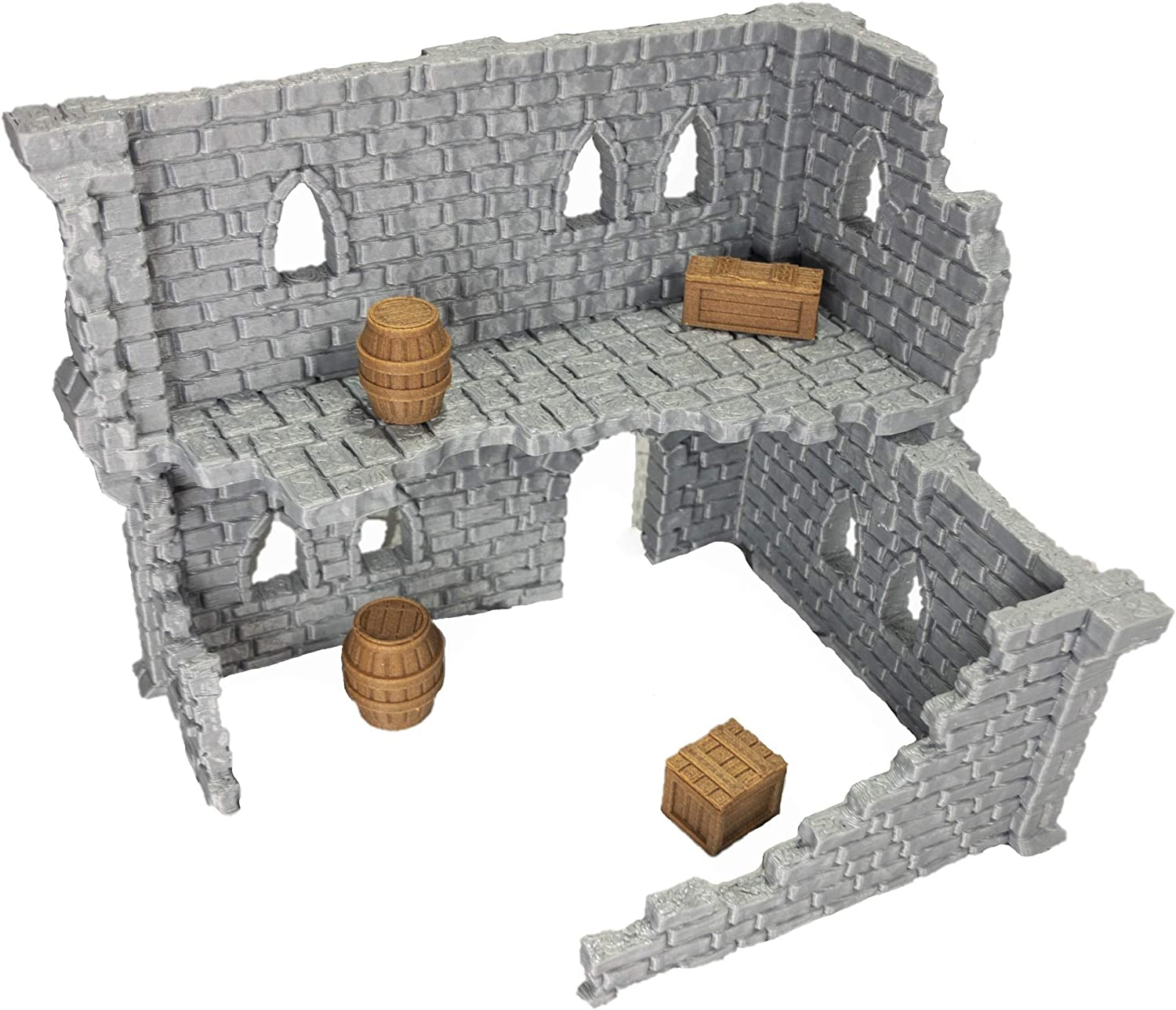 Ruin Rubble War Gaming Terrain for D/&D Table Top Gamers