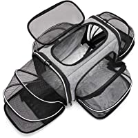 ESTARER Bärväska, vikbar resväska för katter och små hundar i bilen, fordonet eller på tåget.