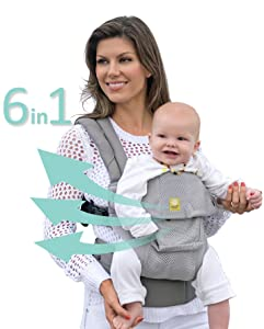 The Best Front Facing Baby Carrier:  Six-Position 360 by Lillebaby