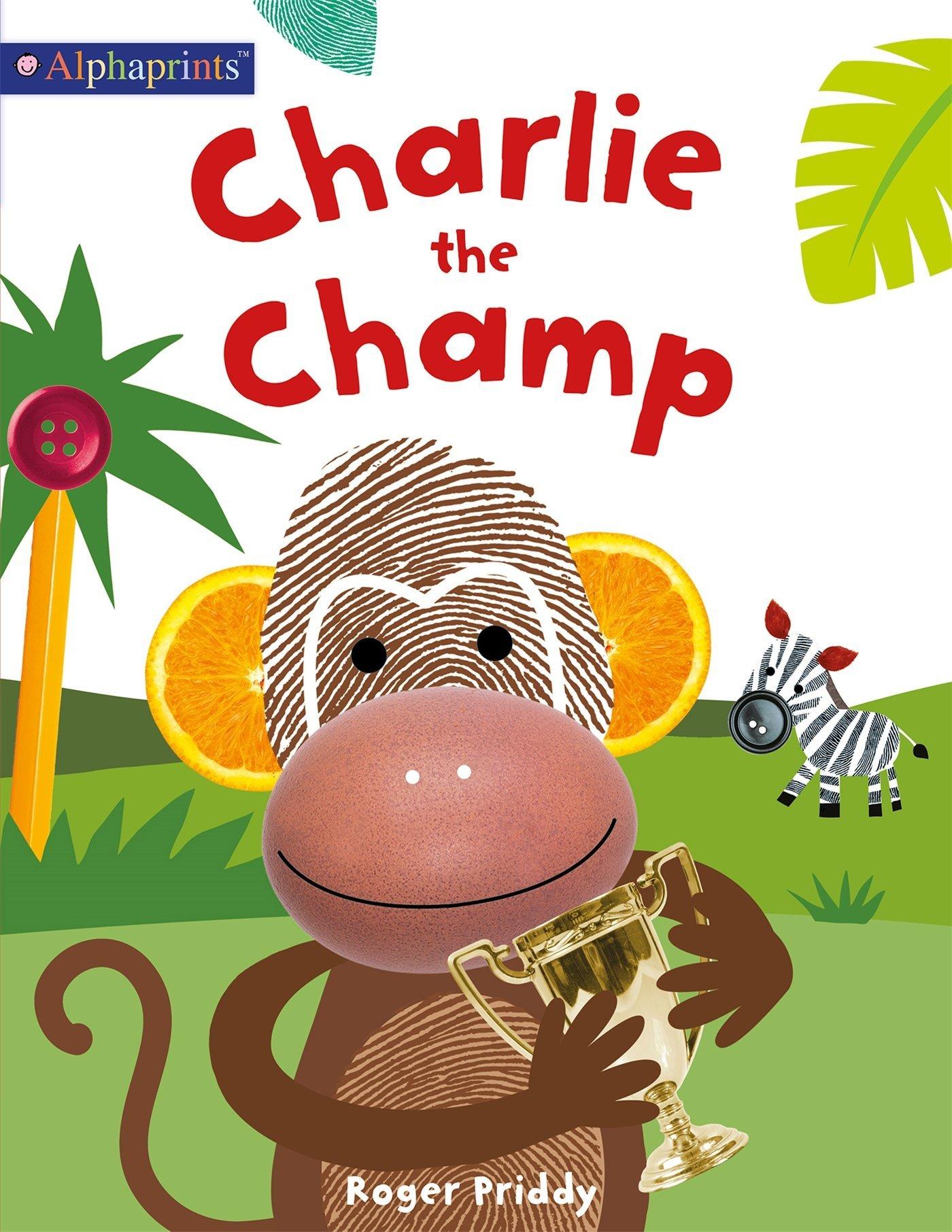 Charlie Champ Alphaprints Picture Book