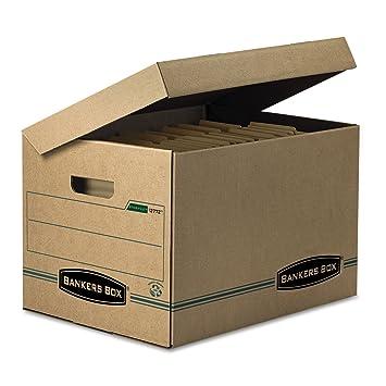 FEL12772 - Bankers Box Stor/File Storage Box  sc 1 st  Amazon.com & Amazon.com : FEL12772 - Bankers Box Stor/File Storage Box : Storage ...