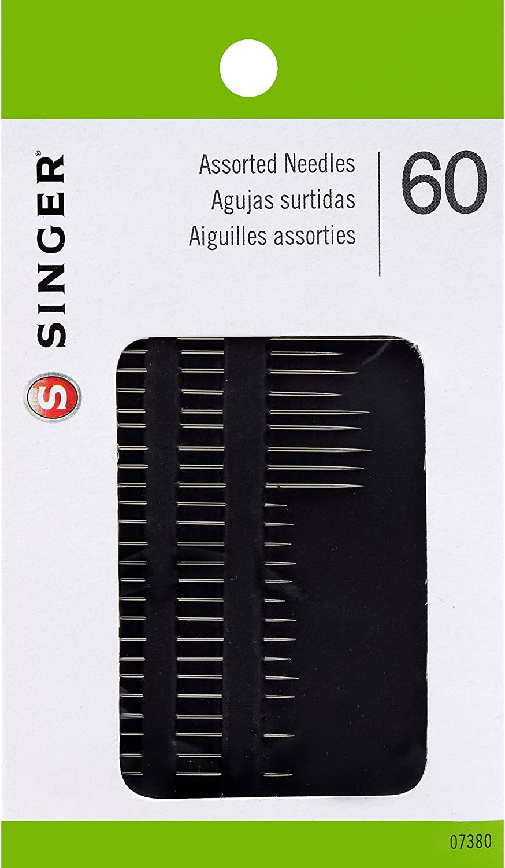 SINGER Assorted Hand Needles 60 Count