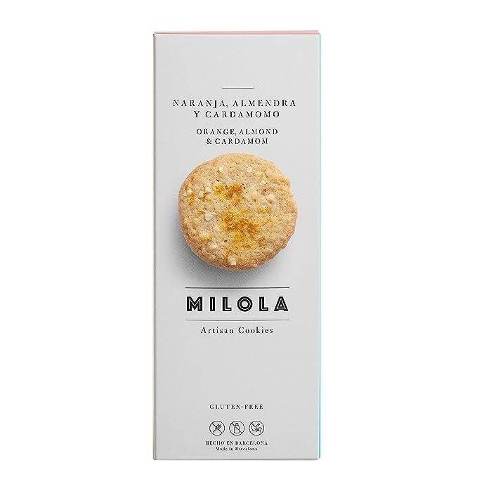 Milola, Galleta de Naranja, Almendra y Cardomomo - 3 de 140 gr. (