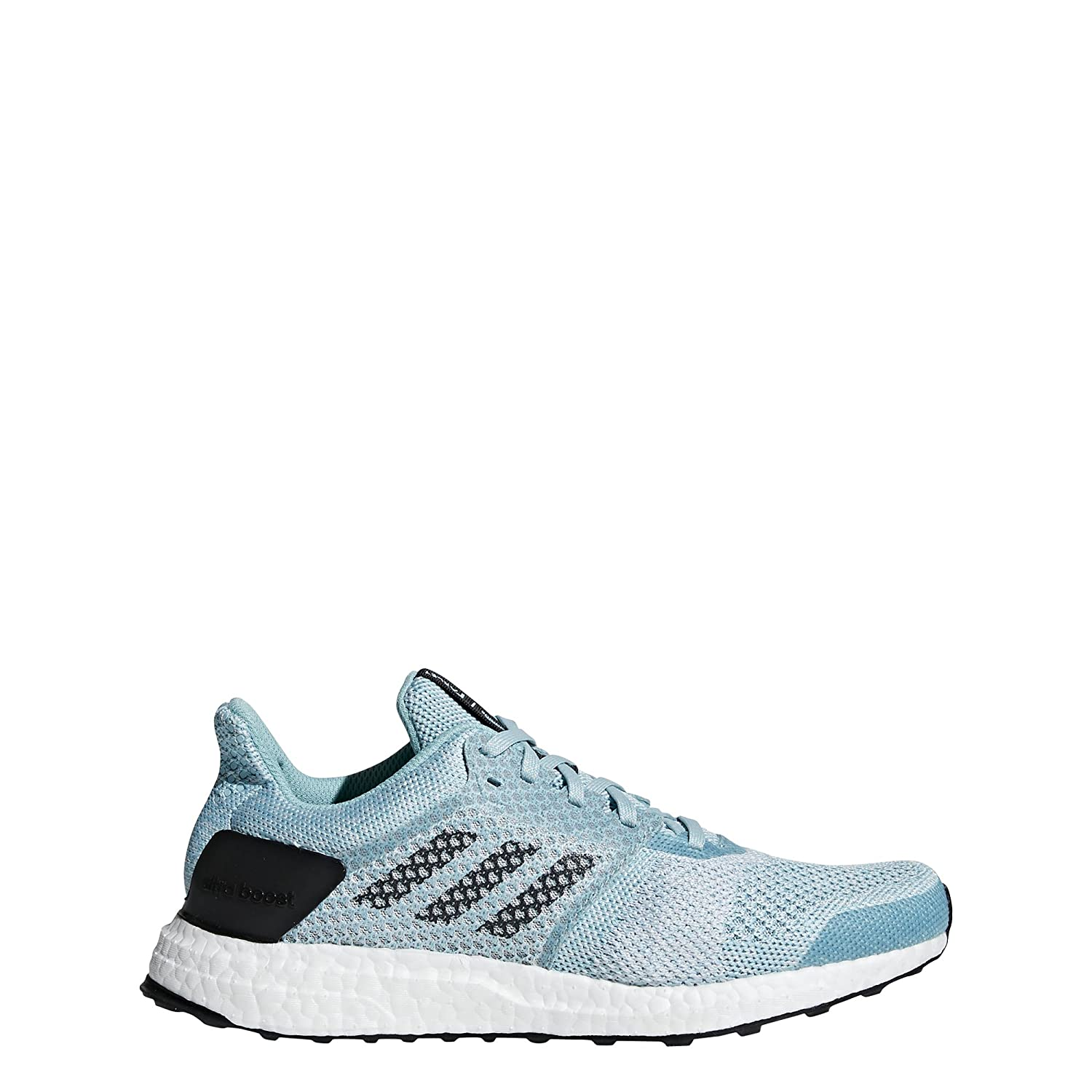 adidas Women's Ultraboost St Parley Running Shoe B077XLR4MS 7 B(M) US|Blue Spirit/White/Chalk Pearl