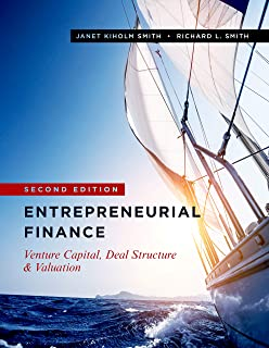 Amazon com: Entrepreneurial Finance: Strategy, Valuation, and Deal