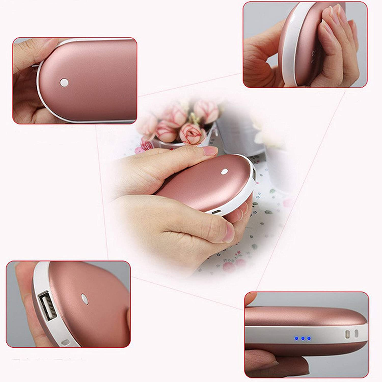 Elektrische USB Tasche Hand Wärmer Aufladbare Power Bank Heizung Heizung