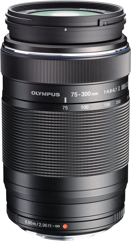 Olympus MSC ED-M 75 to 300mm II f4.8-6.7 Zoom Lens - International Version (No Warranty)