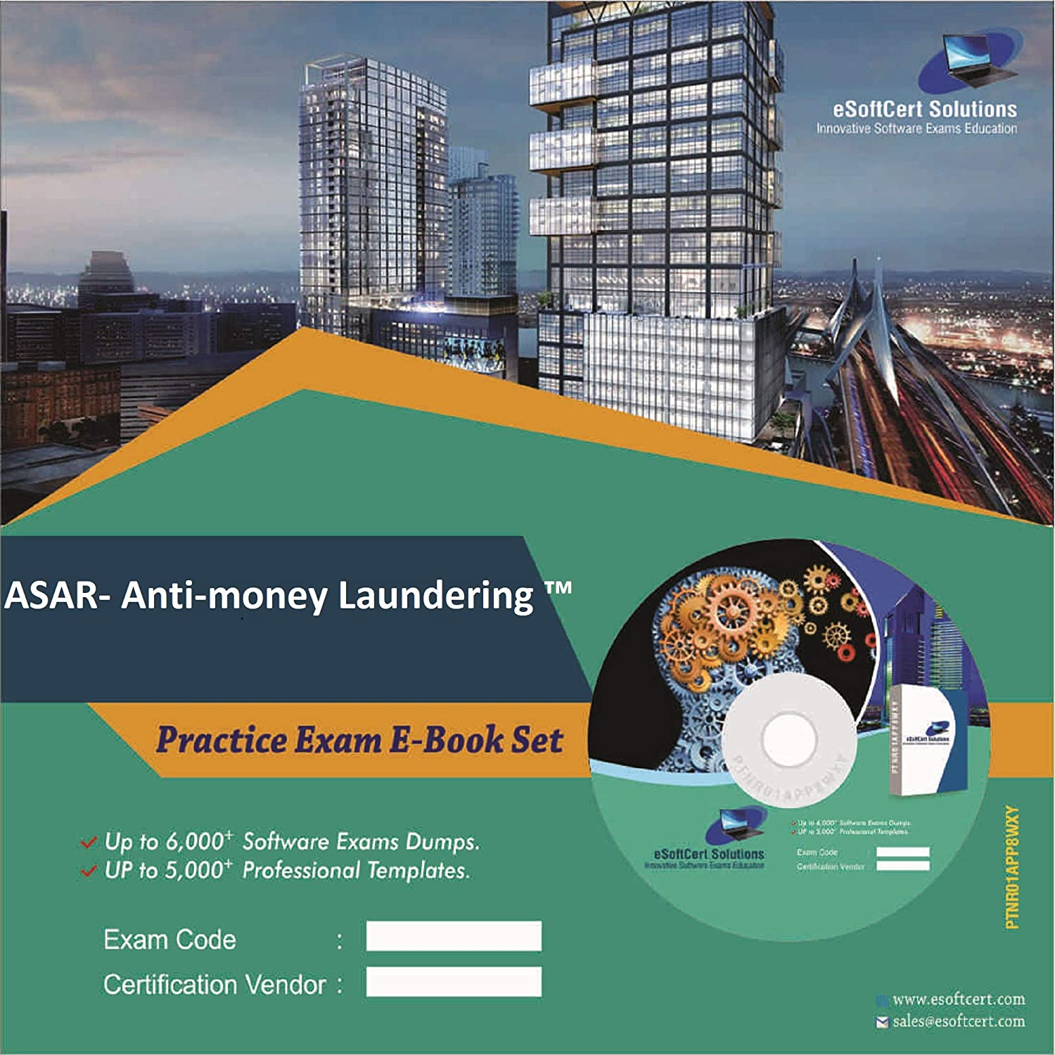 ASAR- Anti-money Laundering ™ Exam Complete Video Learning Solution (DVD)