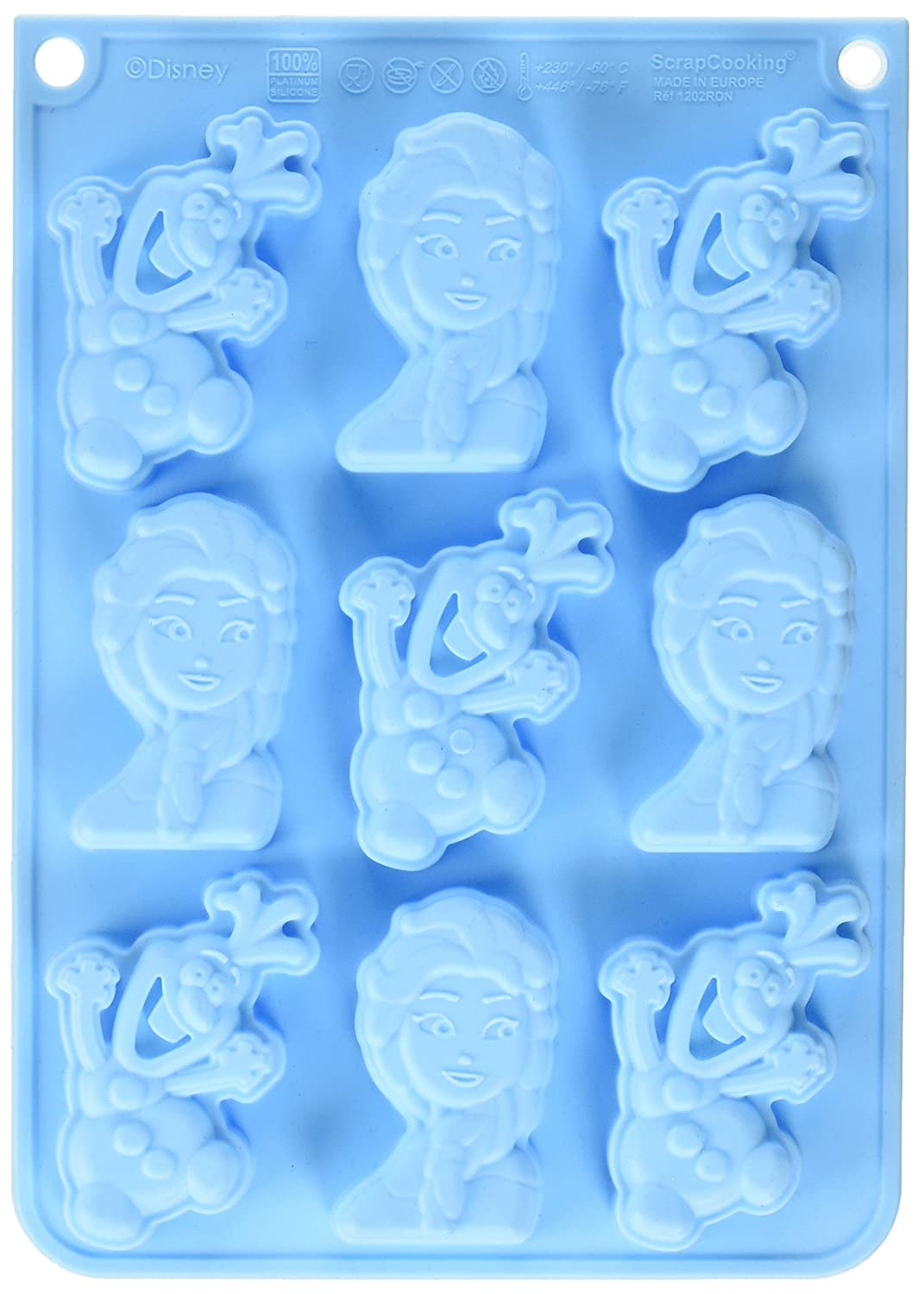 ScrapCooking Disney Frozen & Olaf Silicone Mould, Blue 1202RDN