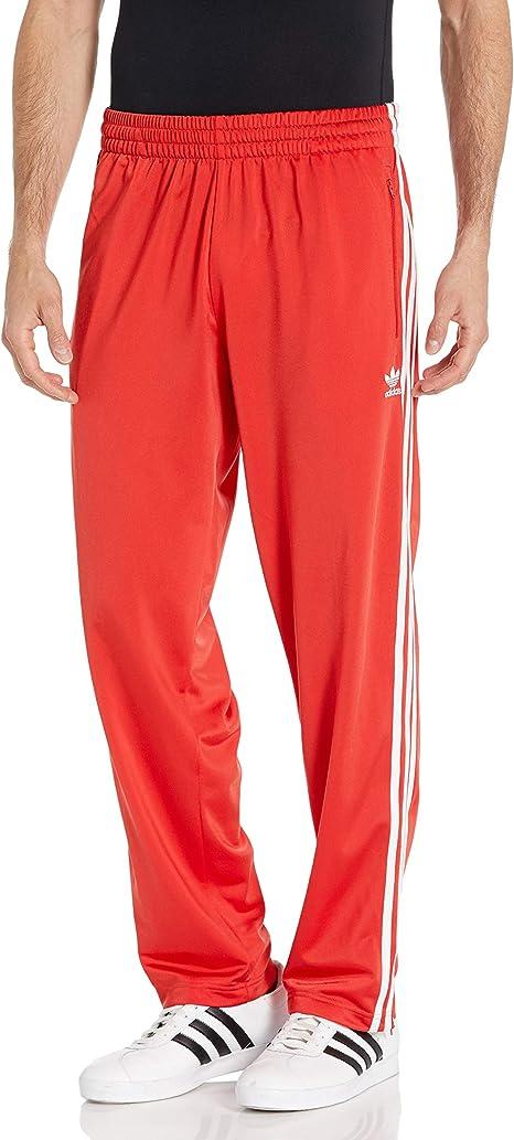 adidas Originals Mens Firebird Track Pants Suit Lush Red, XL ...