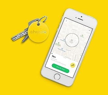 Nueva Chipolo Classic 2.0 Smart llavero Teléfono Bluetooth tracker, localizador, Buscador de Llaves, buscador de tipo cartera, Item Finder: Amazon.es: ...