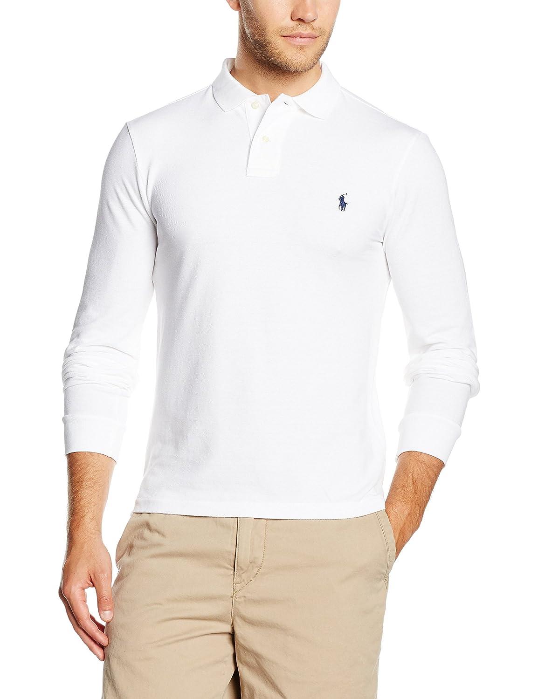 Polo Ralph Lauren Herren Poloshirt Ls Kc Slimfit Ppc