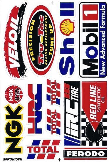 Sponsor Motocross Racing Tuning Motorbike Decal
