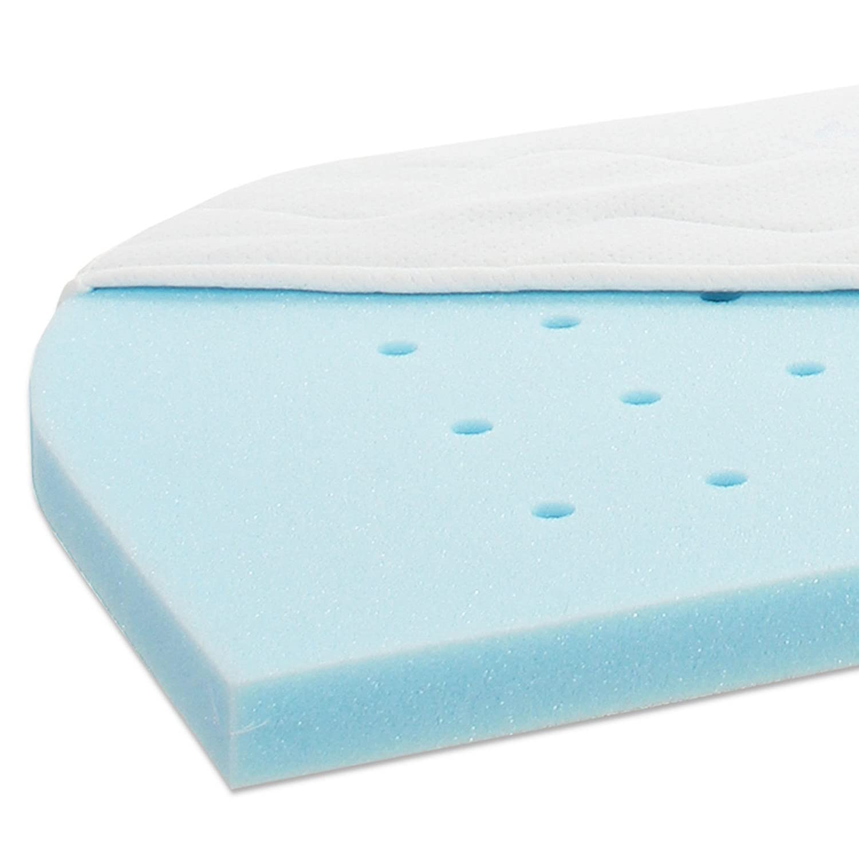 Babybay Matratze Smart Comfort Comfort Comfort extraluftig für Maxi und Boxspring, weiß 11e5ea