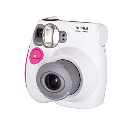 Fujifilm Instax Mini 7s Instant Film Camera (Pink) Instant Film Cameras at amazon