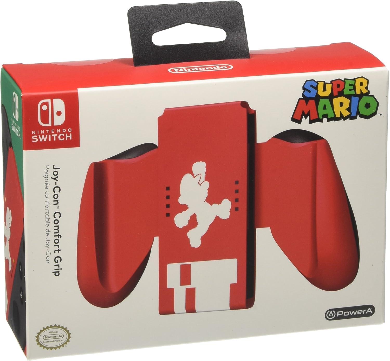 Power A Joy-Con - Comfort Grip Super Mario (Nintendo Switch): Amazon.es: Videojuegos