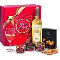"""Ducs de Gascogne - Coffret gourmand """"Affaire de goût"""" - comprend 4 produits salés et sucrés et 1 vin - 979495"""