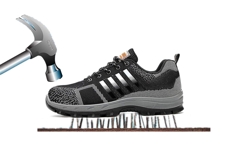 Axcer in S3 Scarpe Stivali da Lavoro Lavoro per Uomo e Donna