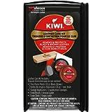 KIWI Shoe Shine Leather Care Kit, Black & Brown - Gives Shoes Long-Lasting Shine and Protection (2 Tins, 1 Brush, 1…