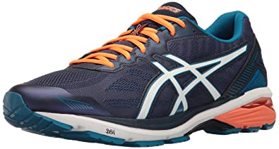 Buy ASICS Gt 1000 5 Running Shoe Indigo BlueSnowHot Orange