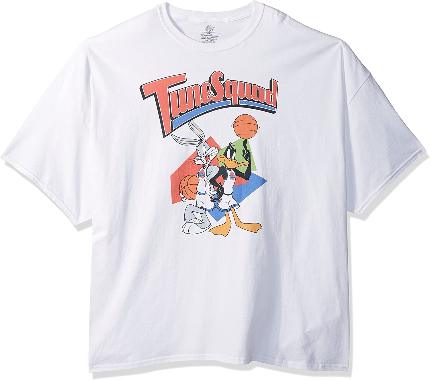 Warner Brothers Retro Tune Squad Space Jam T-Shirt Big and Tall - Weiß -  X-Groß: Amazon.de: Bekleidung