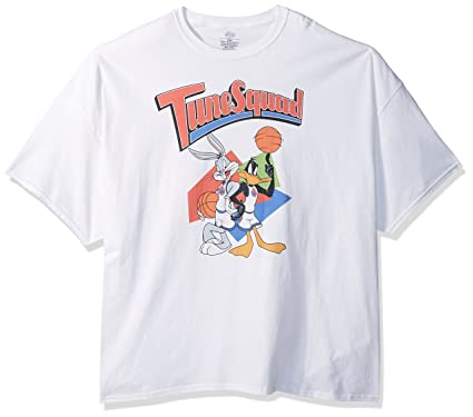 28cd3fed4fc86c Amazon.com  Warner Brothers Men s Retro Tune Squad Space Jam T-Shirt Big  Tall  Clothing