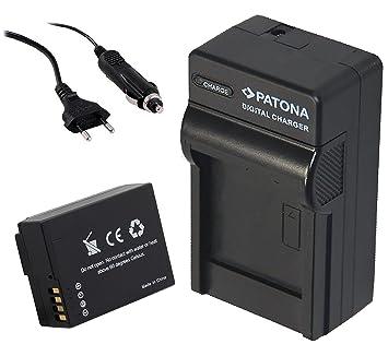 Premium Batería Pack DMW-BLC12 (S) con 1000 mAh con cargador ...
