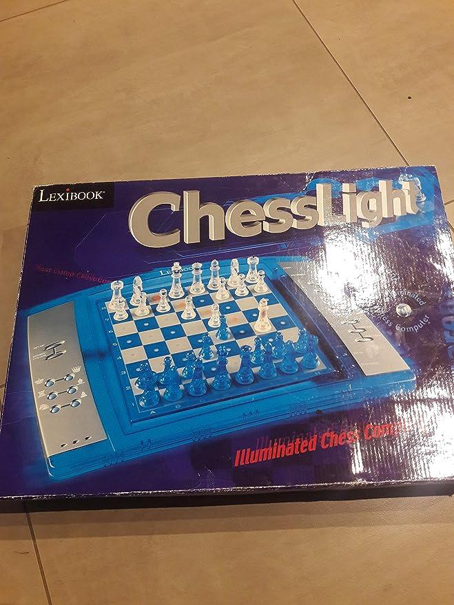 LEXIBOOK Ajedrez electrónico y luminoso con teclado sensitivo, juego de mesa, multiples niveles para principiantes y avanzados (LCG3000) , color/modelo surtido: Amazon.es: Juguetes y juegos
