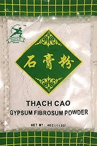 FOOD GRADE GYPSUM POWDER TOFU COAGULANT 4 Oz (112g) CALCIUM SULFATE Super Brand