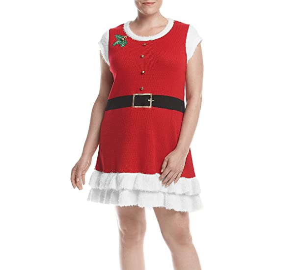 Love Always Plus Size Mrs Claus Dress At Amazon Womens Clothing Store